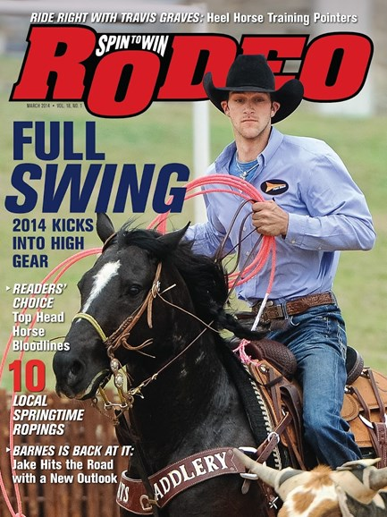 The Team Roping Journal Cover - 3/1/2014