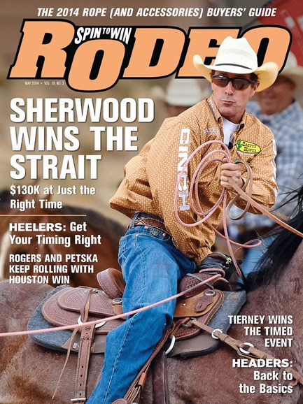 The Team Roping Journal Cover - 5/1/2014