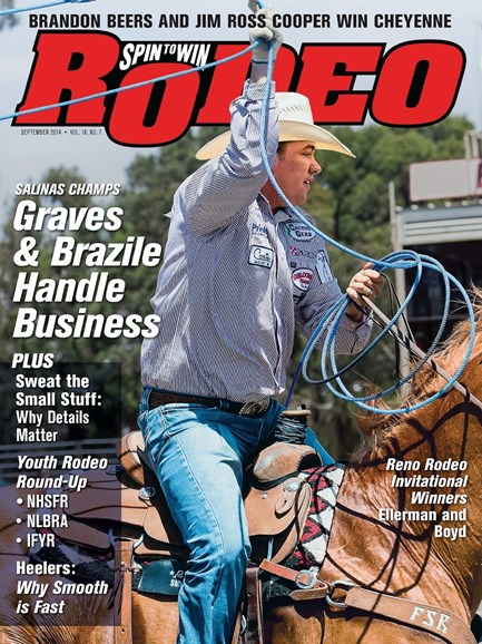 The Team Roping Journal Cover - 9/1/2014