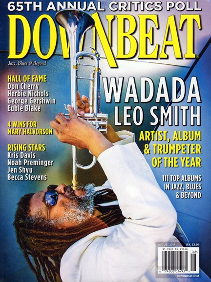 DownBeat Cover - 8/1/2017