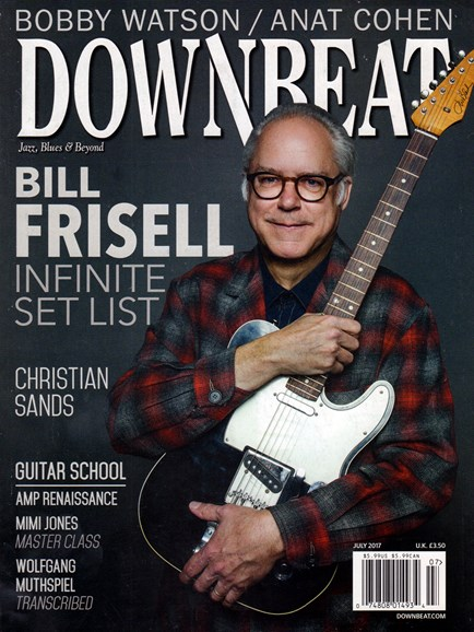 DownBeat Cover - 7/1/2017