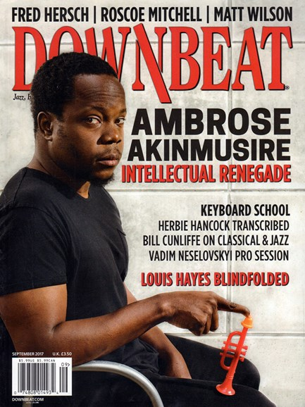 DownBeat Cover - 9/1/2017