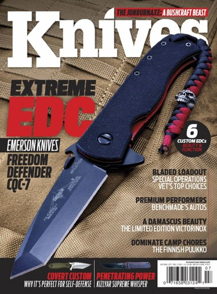 Knives Illustrated Cover - 7/1/2017