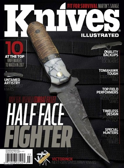 Knives Illustrated Cover - 3/1/2017