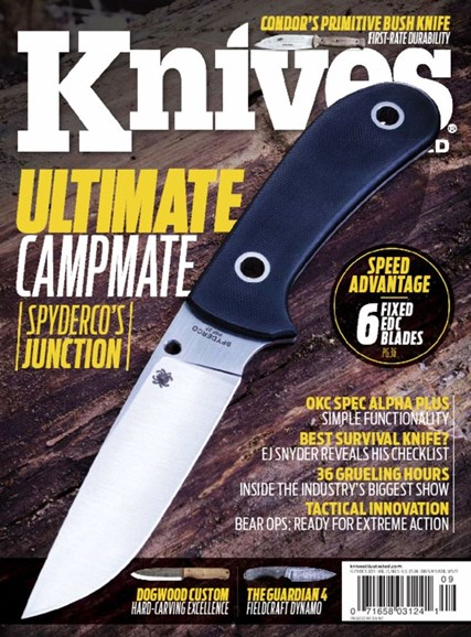 Knives Illustrated Cover - 9/1/2017