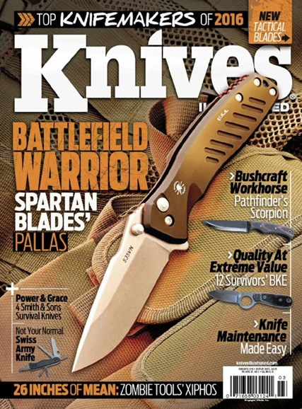 Knives Illustrated Cover - 3/1/2016