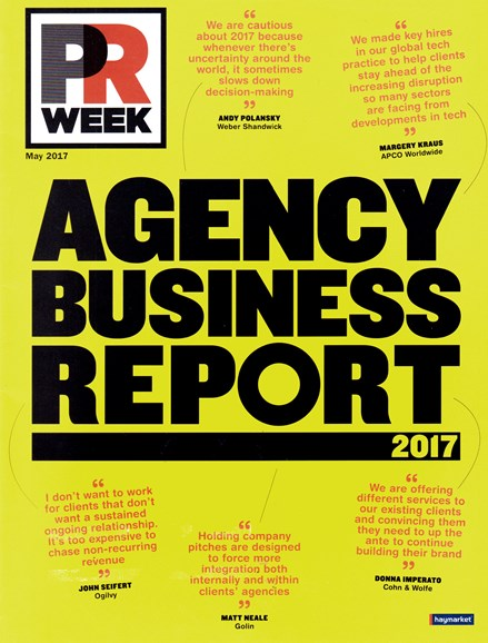 PRWeek Cover - 5/1/2017