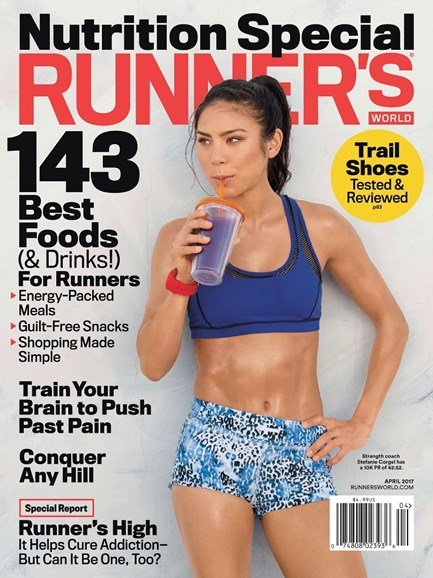 Runner's World Cover - 4/1/2017