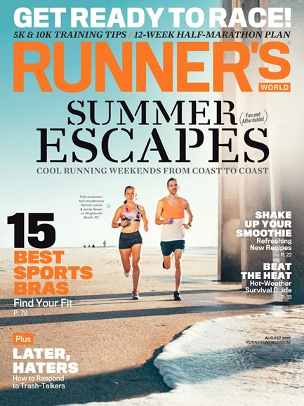 Runner's World Cover - 8/1/2017