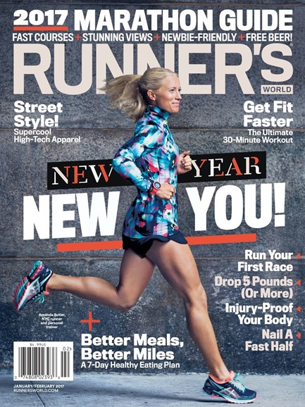 Runner's World Cover - 1/1/2017