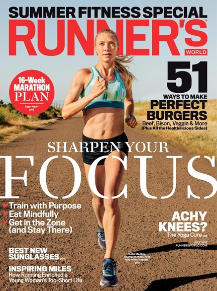 Runner's World Cover - 7/1/2017