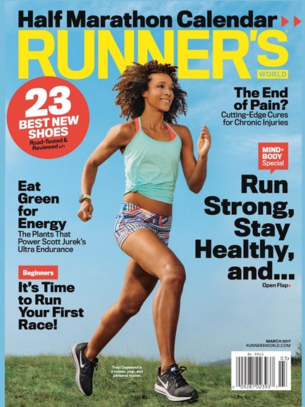 Runner's World Cover - 3/1/2017