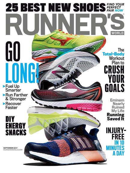 Runner's World Cover - 9/1/2017