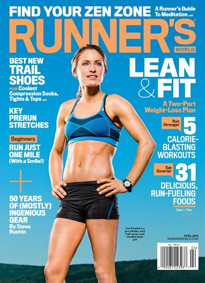 Runner's World Cover - 4/1/2016