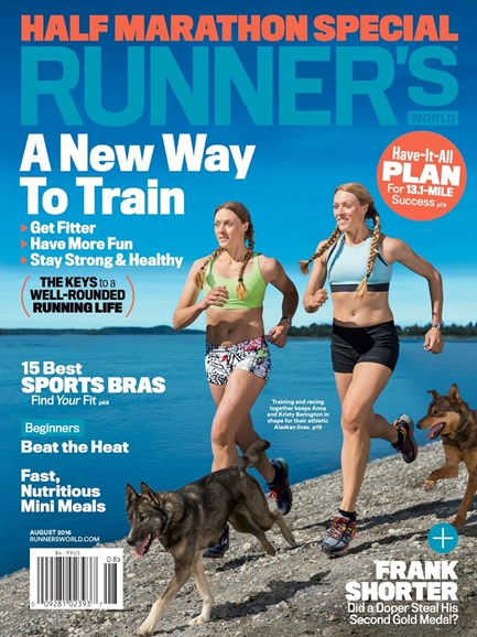 Runner's World Cover - 8/1/2016