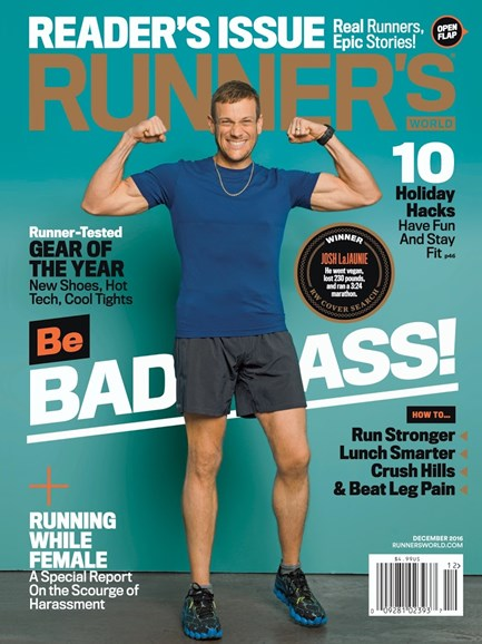 Runner's World Cover - 12/1/2016