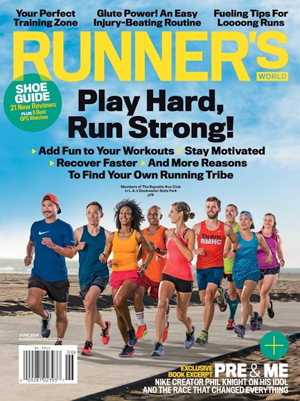 Runner's World Cover - 6/1/2016