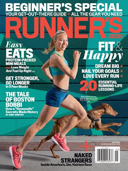 Runner's World Cover - 5/1/2016