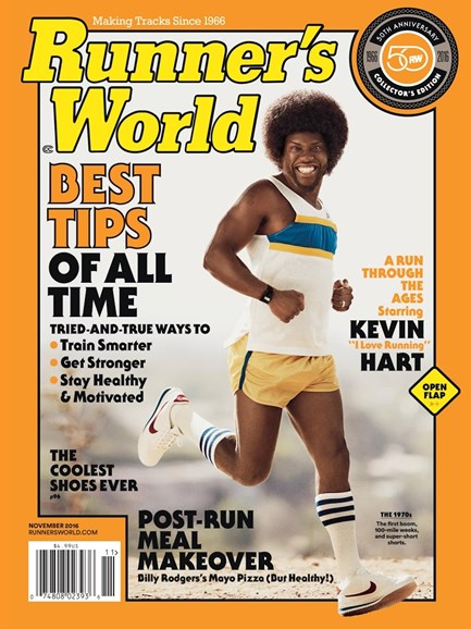 Runner's World Cover - 11/1/2016
