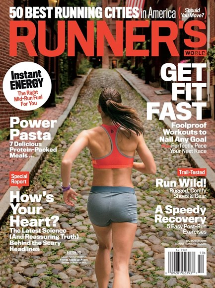Runner's World Cover - 10/1/2016