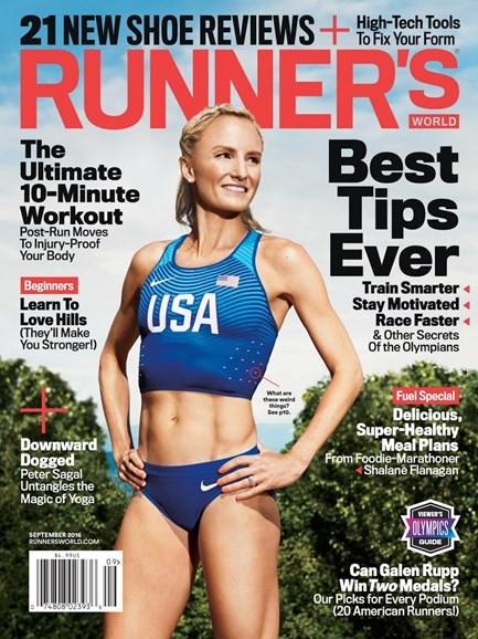 Runner's World Cover - 9/1/2016