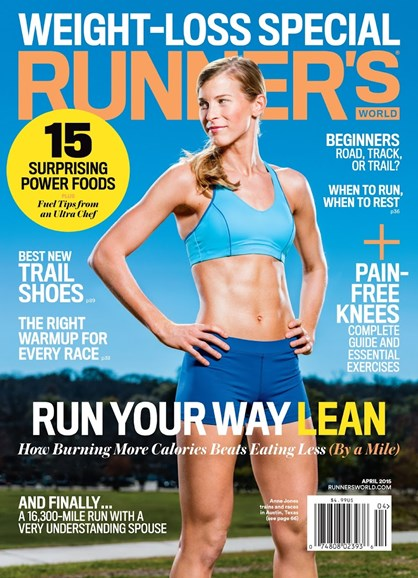 Runner's World Cover - 4/1/2015