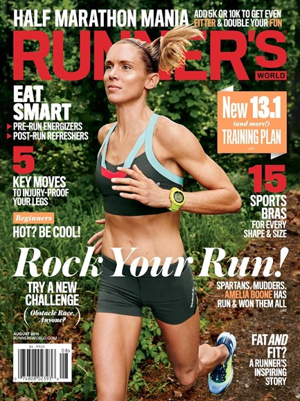 Runner's World Cover - 8/1/2015