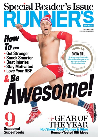 Runner's World Cover - 12/1/2015