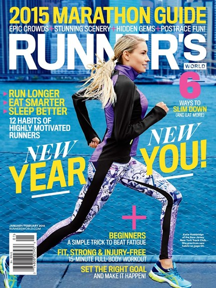 Runner's World Cover - 1/1/2015