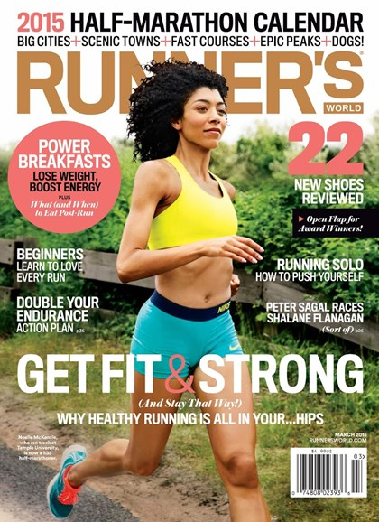 Runner's World Cover - 3/1/2015