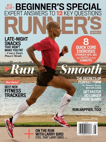 Runner's World Cover - 5/1/2015