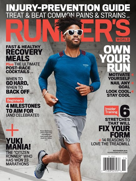 Runner's World Cover - 11/1/2015
