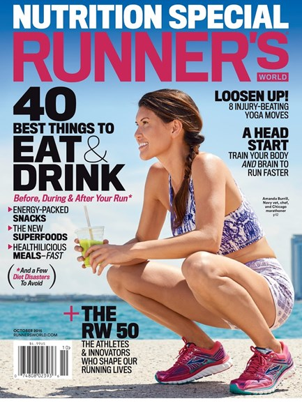 Runner's World Cover - 10/1/2015