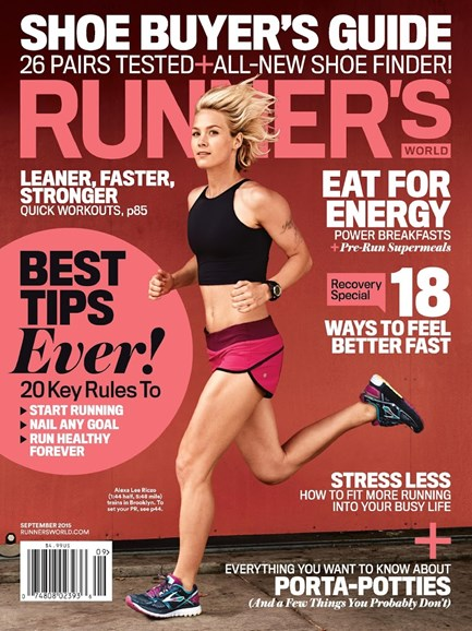 Runner's World Cover - 9/1/2015