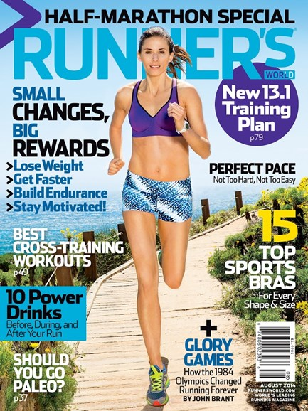 Runner's World Cover - 8/1/2014