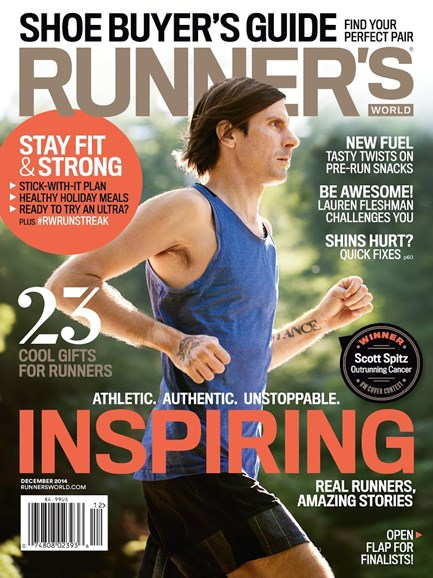 Runner's World Cover - 12/1/2014