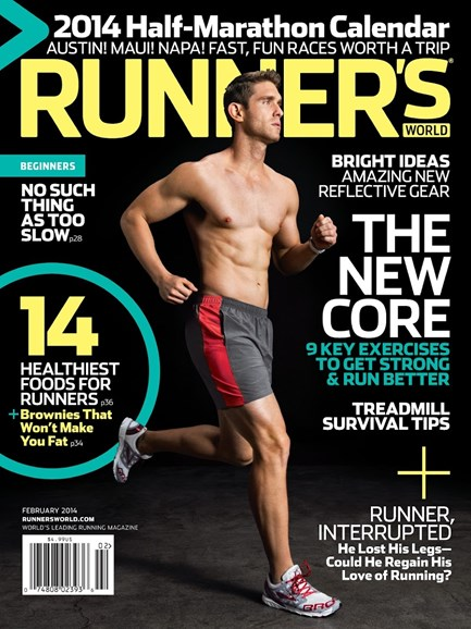 Runner's World Cover - 2/1/2014