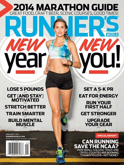 Runner's World Cover - 1/1/2014