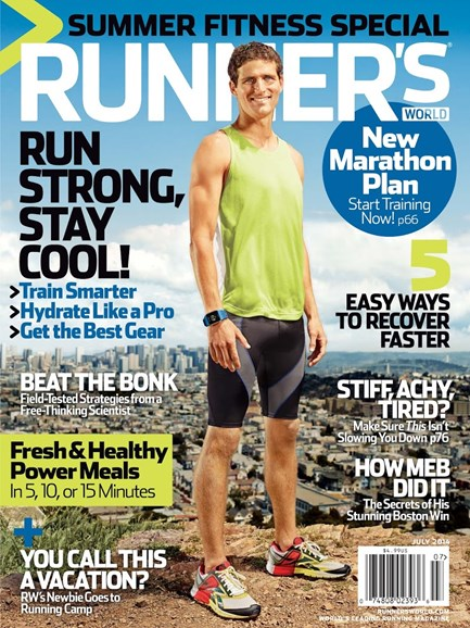 Runner's World Cover - 7/1/2014