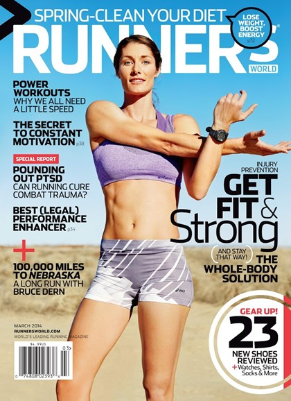 Runner's World Cover - 3/1/2014