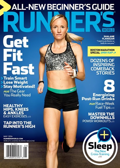 Runner's World Cover - 5/1/2014