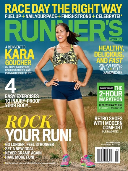 Runner's World Cover - 11/1/2014