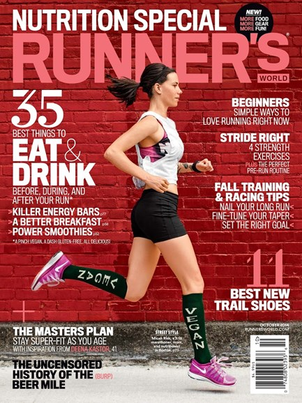 Runner's World Cover - 10/1/2014