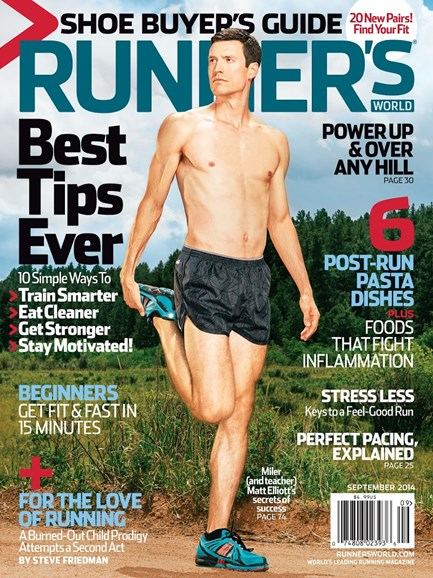 Runner's World Cover - 9/1/2014