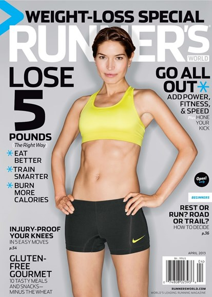 Runner's World Cover - 4/1/2013