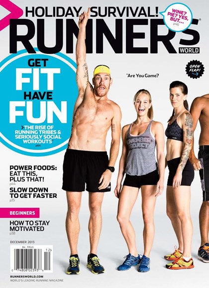 Runner's World Cover - 12/1/2013