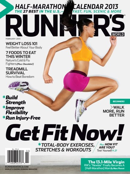 Runner's World Cover - 2/1/2013