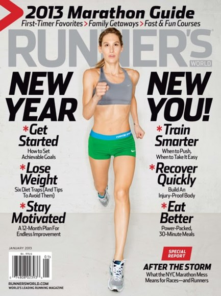 Runner's World Cover - 1/1/2013