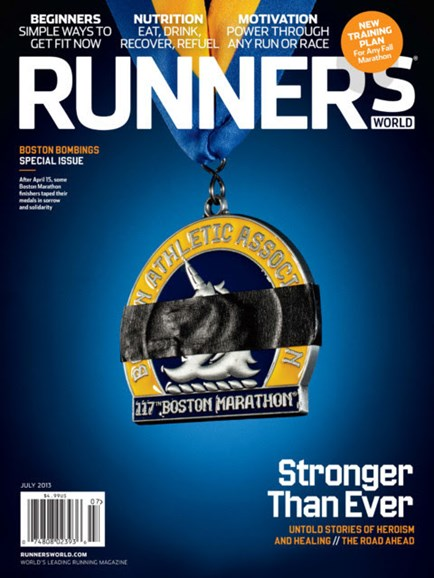 Runner's World Cover - 7/1/2013