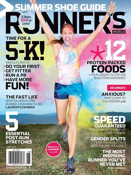 Runner's World Cover - 6/1/2013